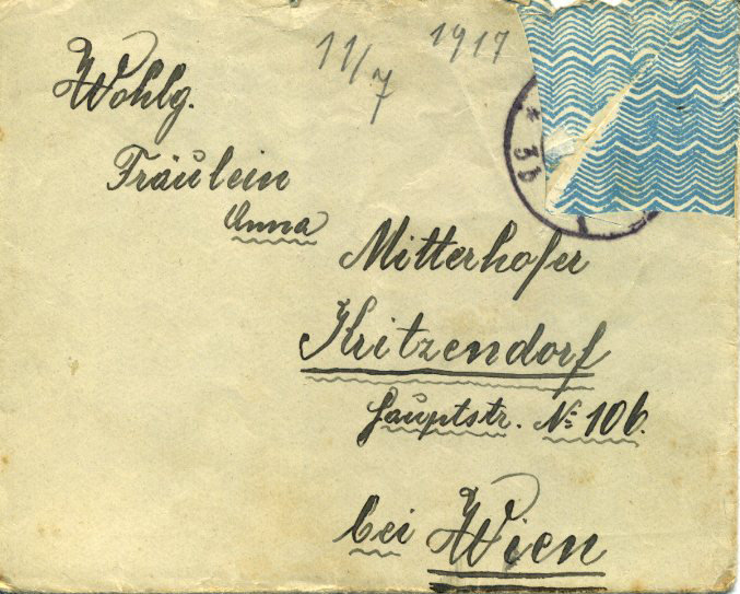 Love Letters in World War I